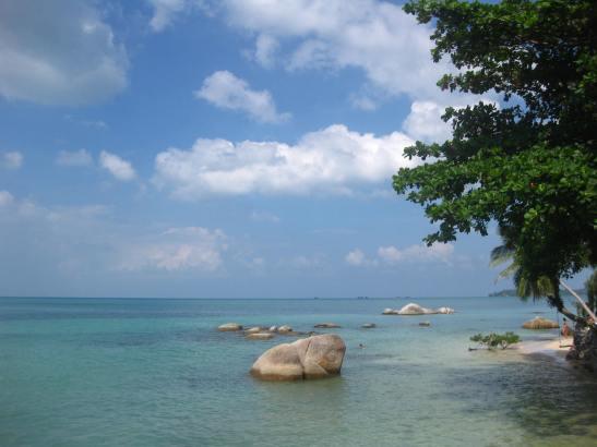 plai laem beach thailand